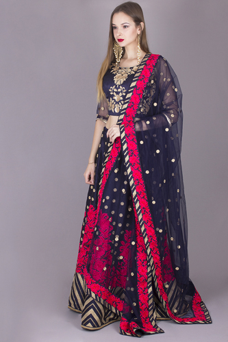 Saree Model ecommerce photography